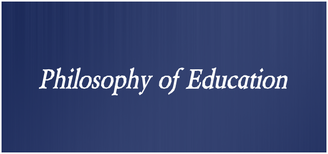 how to write a personal philosophy of education